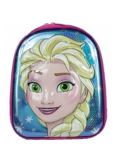 Bebebebek Elsa Frozen Okul Çantası Ana Okulu Çantası  Renkli